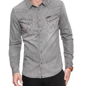 Wr. camicia denim grey